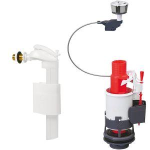 Wirquin Mécanisme économiseur d'eau et robinet compact