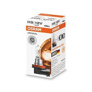 Osram Original H9, Lampe De Phare Halogène, 64213, 12 V Véhicule De Tourisme, Boîte Pliante (1 Pièce)