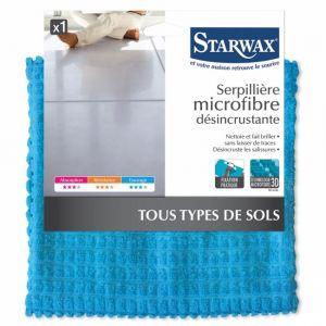 Starwax Serpillière microfibre désincrustante 50 x 70 cm