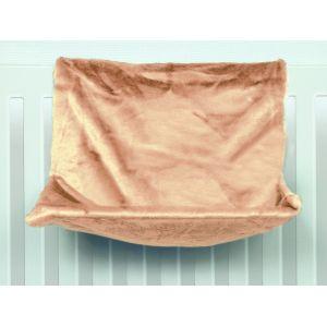 Trixie Hamac de radiateur en peluche 48 x 26 x 30 cm