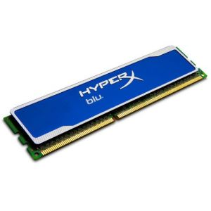 Kingston KHX1333C9D3B1/2G - Barrette mémoire HyperX blu 2 Go DDR3 1333 MHz CL9 240 broches