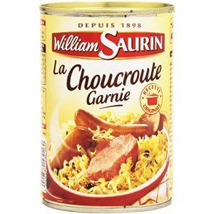 William Saurin La choucroute garnie au vin blanc