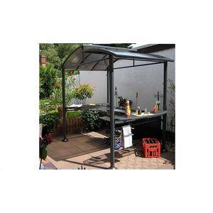 Tonnelle abri pour barbecue stabilité optimale