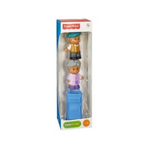 Fisher-Price Tube 2 Figurines Little People - Grand Parents