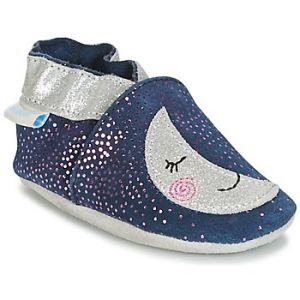 Robeez Moonlight, Chaussures de Naissance Mixte bébé, Bleu (Marine Gris 103), 23/24 EU