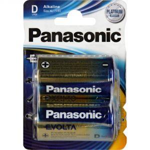 Panasonic Evolta pile LR20 x2