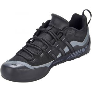 Adidas Terrex Swift Solo, Chaussures de Fitness homme, Noir (Black/Black/Lead), 44 2/3