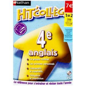 Nathan Hit'Collège : Anglais 4ème - 2008/2009 [Windows]