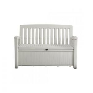Keter Patio Storage Bench white