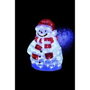 Bonhomme de neige lumineux pour l'extérieur (45 cm)