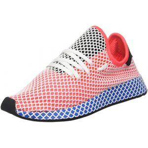 Adidas Deerupt Runner Homme, Rouge (Solar Red/Solar Red/Bluebird), 38 EU