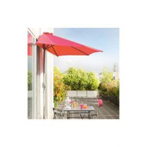 Hesperide Demi parasol de balcon Séréna framboise