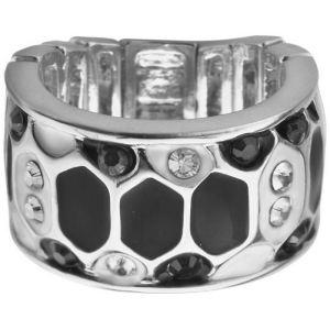 Guess UBR91309 - Bague pour femme en métal rhodié argenté