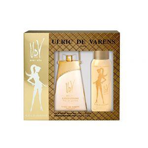 Ulric de Varens Gold-Issime - Coffret eau de parfum et déodorant