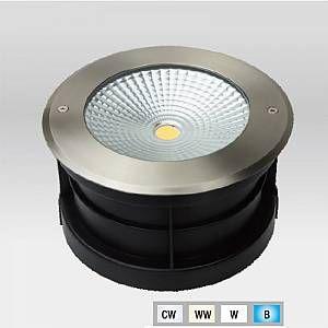 Optonica Spot LED Extérieur à enterrer ou encastrer 24W (éclairage 200W) étanche