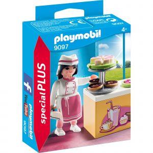 Playmobil 9097 - Special Plus :Pâtissière avec gâteaux
