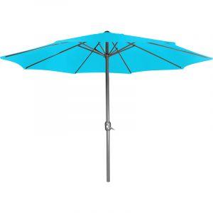 Cemonjardin Parasol droit turquoise