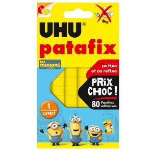 UHU Patafix jaune - 80 pastilles