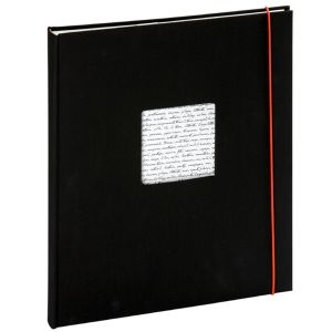 Panodia Album photo adhésif Linéa noir 29x33 cm 30 pages ivoire