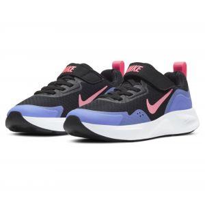 Nike Wearallday Baskets Garçon Noir - 28