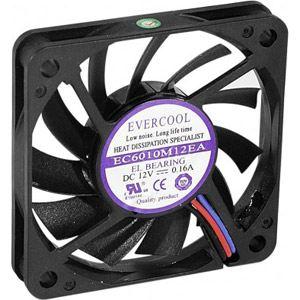 konektikpc 910179 - Ventilateur lubrifié à vie 60x60x10
