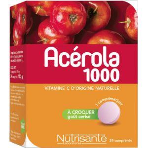 Nutrisanté Acerola 1000 - 60 comprimés