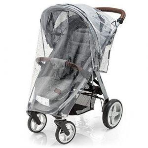 Habillage pluie confort universel pour tous types de poussettes, poussettes cannes ou poussettes 3 roues