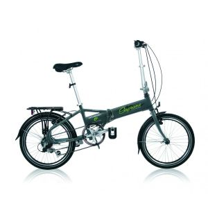 """Descheemaker Vélo Pliant Supreme 6 Vit. 20"""" Alu Anthracite 2017"""