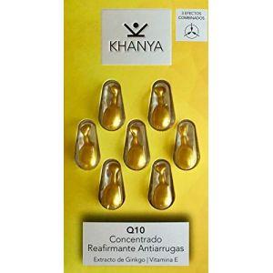 Khanya Q10 concentrado reafirmante antiarrugas