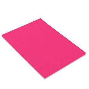 Canson Iris Vivaldi Papier couleur A3 Lisse 250g/m² 29,7 x 42 cm Rose Fluo Lot de 50
