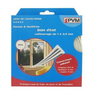 PVM Profil E 10 m - Joint en caoutchouc 9 mm