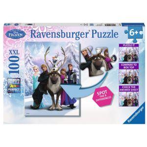 Ravensburger La reine des neige - Puzzle 100 pièces