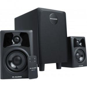 M-Audio Studiophile AV32.1 - Enceinte amplifiée-canal système 2.1