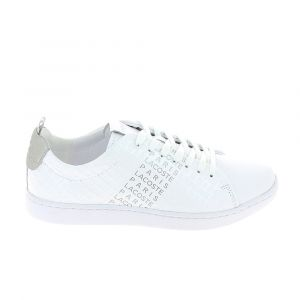 Lacoste Chaussures Carnaby Evo Blanc Gris blanc - Taille 39,40,42