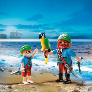 Playmobil 5164 - Duo pack pirate et enfant pirate