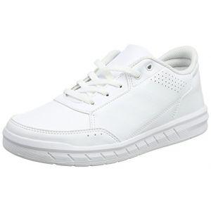 Adidas AltaSport K, Chaussures de Fitness Mixte Enfant, Blanc (Ftwbla/Ftwbla/Gritra 000), 36 2/3 EU
