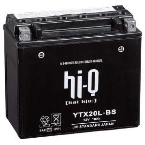 Hi-Q Batterie YTX20L-BS AGM avec pack acide