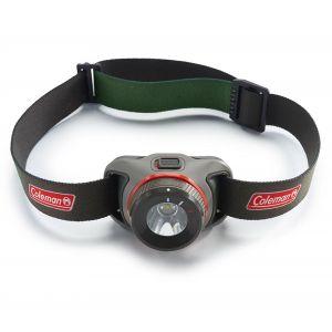 Coleman Stirnlampe BatteryGuard - Lampe frontale taille 250 Lumen, gris/noir