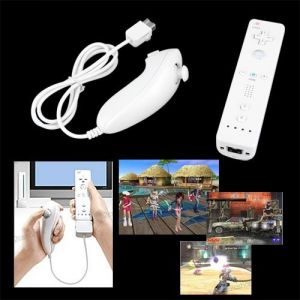 Lgking Supply Set Nunchuck Wiimote pour Wii