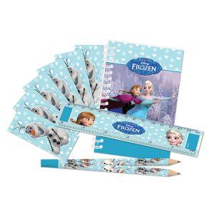 Pack papeterie La Reine Des Neiges (20 pièces)