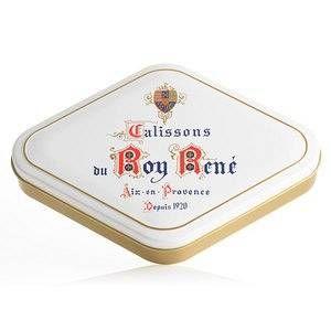 Confiserie du Roy René Boîte Losange 18 Calissons d'Aix