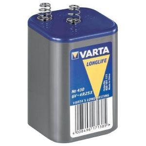 Varta Longlife 430 Batterie - Chlorure de zinc 7.5 Ah