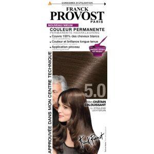 Franck Provost 5.0 Châtain éblouissant - Couleur permanente au pinceau