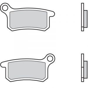 Brembo Plaquettes de frein métal fritté 07GR69SD