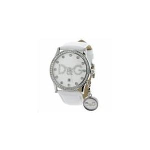 Dolce & Gabbana DW0091 - Montre pour femme avec bracelet en cuir