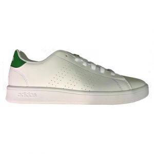 Adidas Chaussures casual Advantage K Blanc / Vert - Taille 37 y 1/3