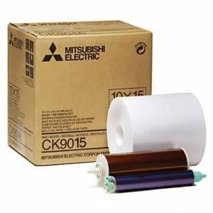 Mitsubishi Papier CK 9015 10x15cm (600 Vues)