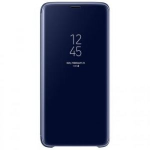 Samsung Clear View Cover Bleu Galaxy S9+