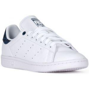 Adidas Stan Smith chaussures Femmes blanc bleu T. 41 1/3