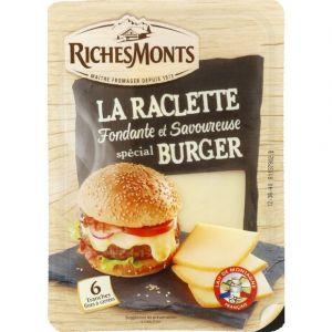 RichesMonts Fromage à raclette nature spécial Burger
